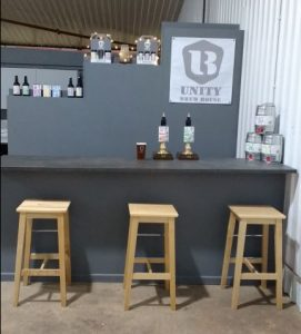 Brewery Bar and Shop Counter
